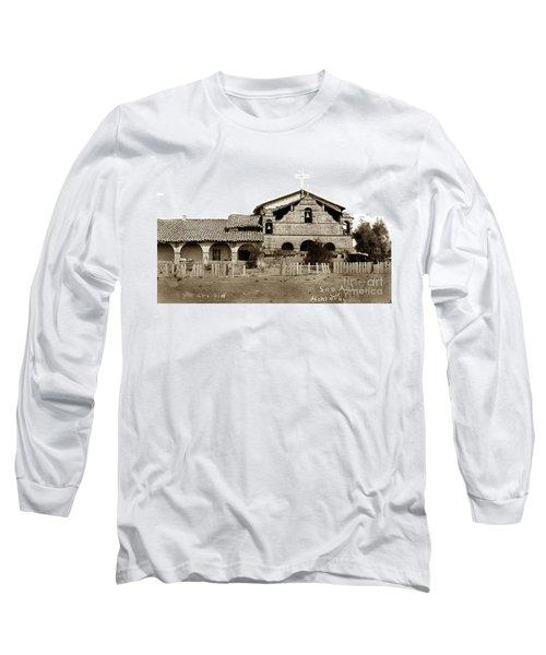 Mission San Antonio De Padua California Circa 1885 Long Sleeve T-Shirt