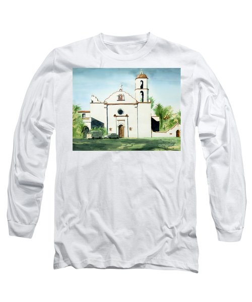 Mission San Luis Rey Colorful II Long Sleeve T-Shirt