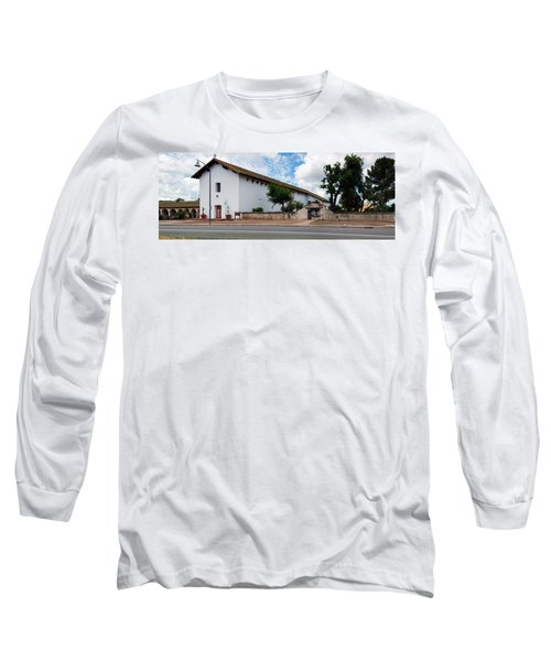 Mission San Miguel Church At Roadside Long Sleeve T-Shirt