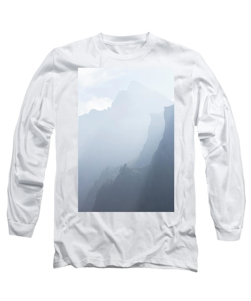 Mist Rising From Layers Of Steep Long Sleeve T-Shirt