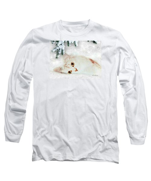 Mistletoe In The Snow Long Sleeve T-Shirt