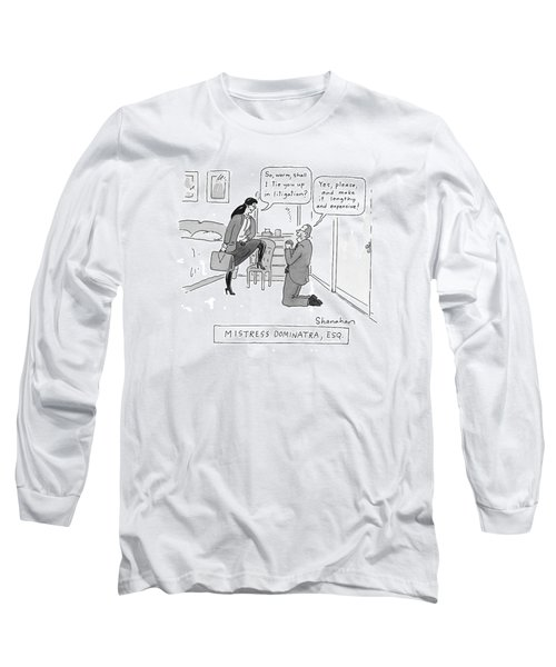 Mistress Dominatra Long Sleeve T-Shirt