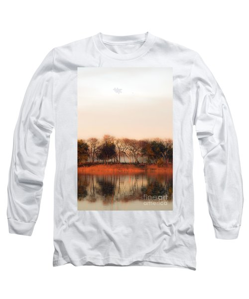 Misty Winter's Morning Long Sleeve T-Shirt