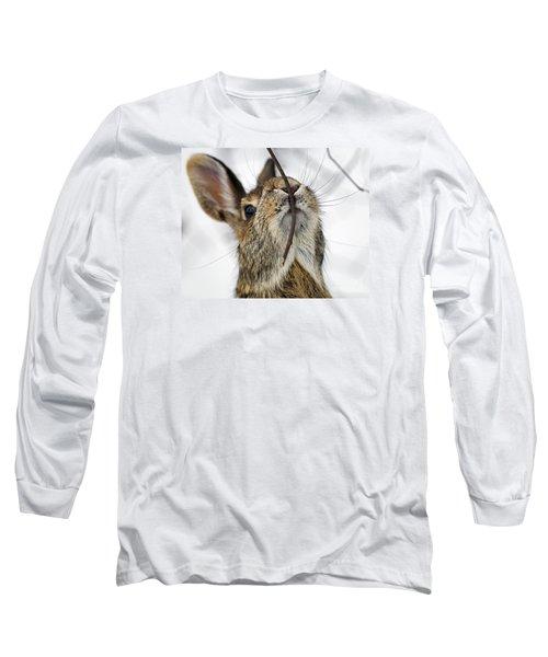 Mmm.. I Like Twiggy... Long Sleeve T-Shirt