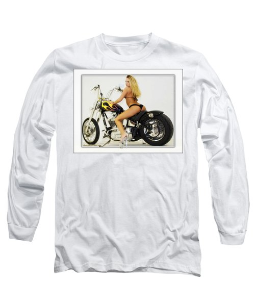 Models And Motorcycles_k Long Sleeve T-Shirt