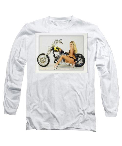 Models And Motorcycles_l Long Sleeve T-Shirt