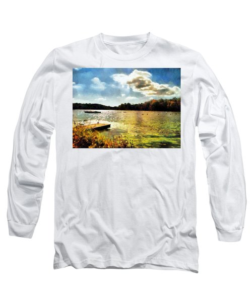 Mohegan Lake Gold Long Sleeve T-Shirt