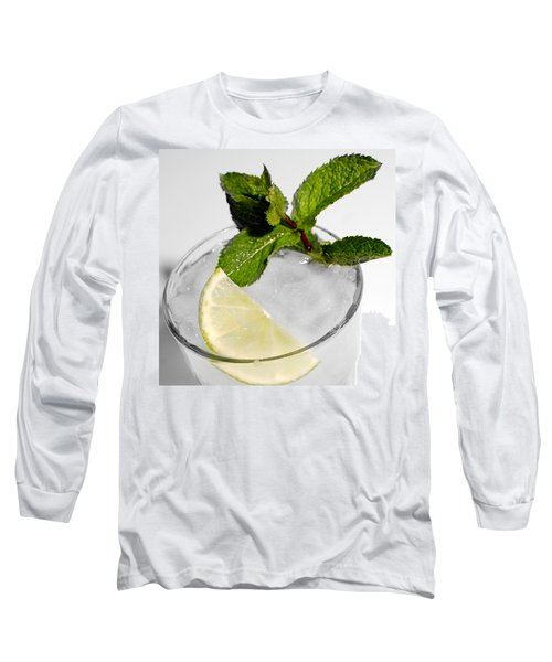 Mojito Detail Long Sleeve T-Shirt