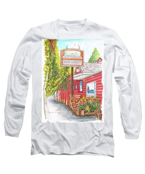 Mono Market Near Mono Lake In Lee Vining-california Long Sleeve T-Shirt