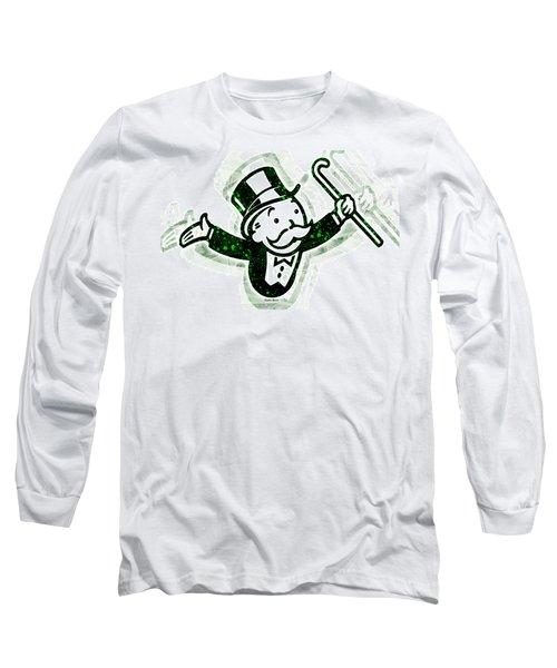 Monopoly Man Long Sleeve T-Shirt