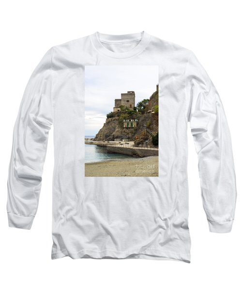 Monterosso Harbor Pier Long Sleeve T-Shirt