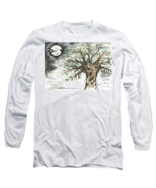 Moon Whisper  Long Sleeve T-Shirt