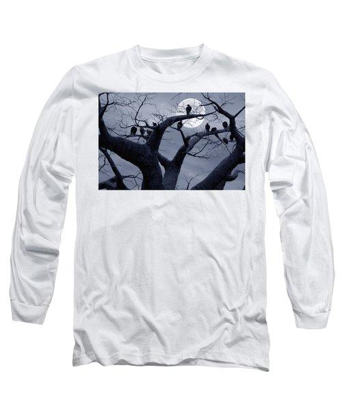 Moon Whisperer II Long Sleeve T-Shirt
