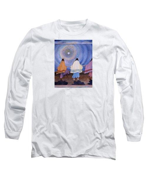 Moondance Long Sleeve T-Shirt by Lynda Hoffman-Snodgrass
