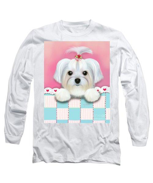 Morkie Shelly Long Sleeve T-Shirt