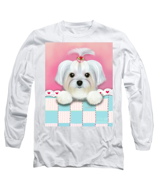 Morkie Shelly Long Sleeve T-Shirt