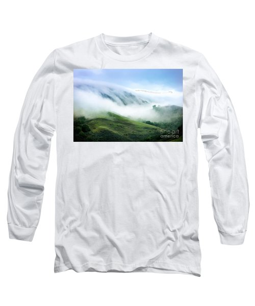 Morning Fog Long Sleeve T-Shirt by Ellen Cotton