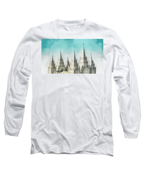 Morning Glory Long Sleeve T-Shirt by Greg Collins