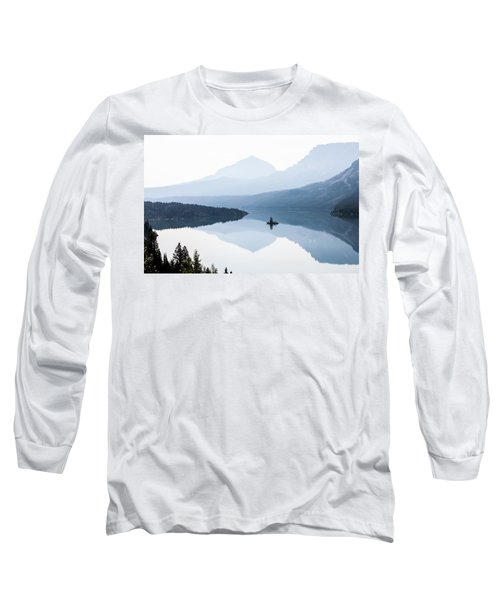 Long Sleeve T-Shirt featuring the photograph Morning Mist by Aaron Aldrich