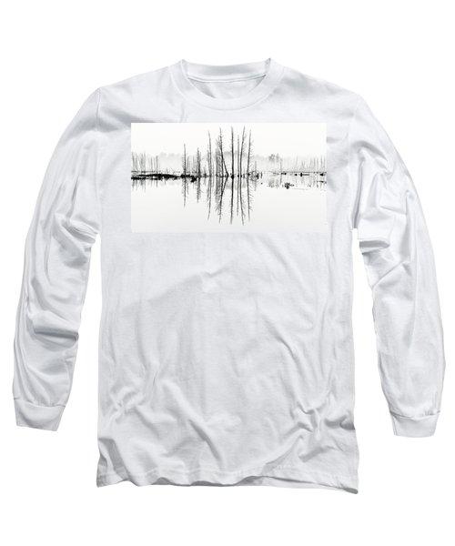 Morning Mystery Pine Lands Long Sleeve T-Shirt