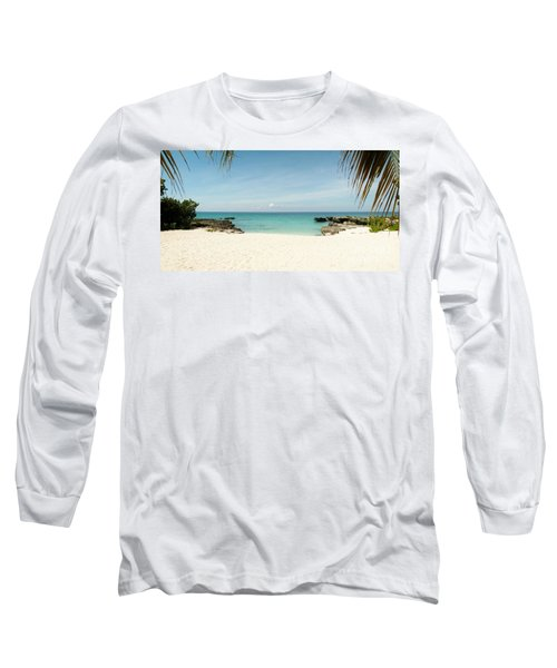 Morning Swim Long Sleeve T-Shirt by Amar Sheow