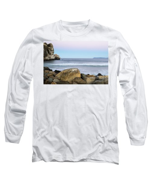 Morro Rock Morning Long Sleeve T-Shirt