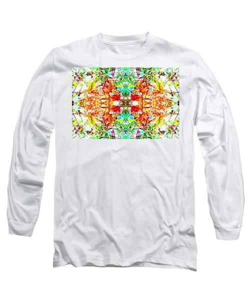 Mosaic Of Spring Abstract Art Photo Long Sleeve T-Shirt