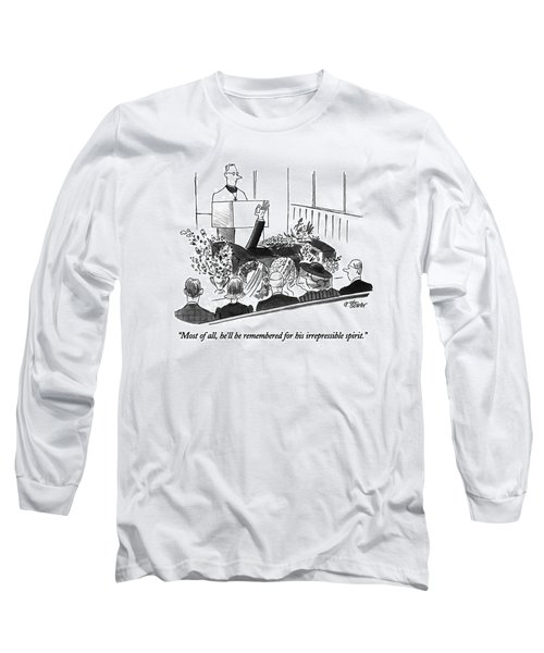 Most Of All Long Sleeve T-Shirt