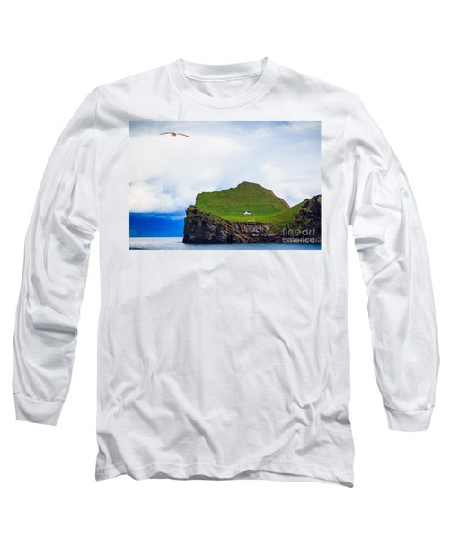 Long Sleeve T-Shirt featuring the photograph Most Peaceful House In The World by Peta Thames