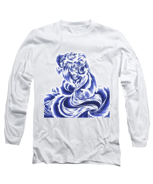 Mother Nature - Face Of The Sea Long Sleeve T-Shirt