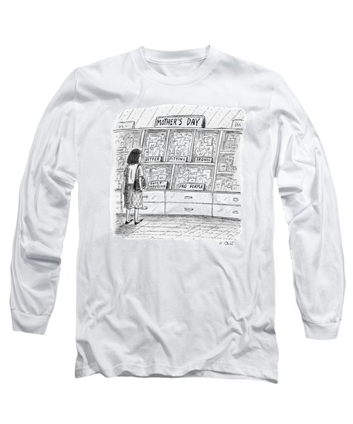 Mother's Day Cards Long Sleeve T-Shirt