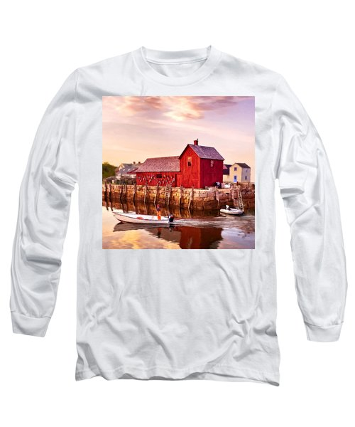 Motif Number One Rockport Massachusetts  Long Sleeve T-Shirt