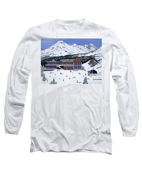 Mount Bachelor Long Sleeve T-Shirt