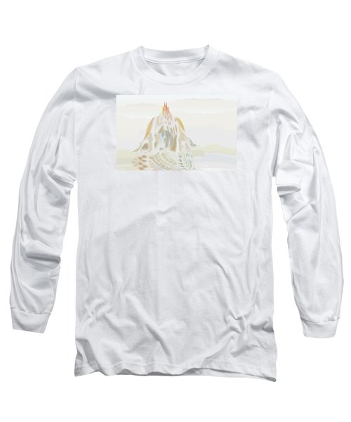 Mount Helm Long Sleeve T-Shirt by Kevin McLaughlin