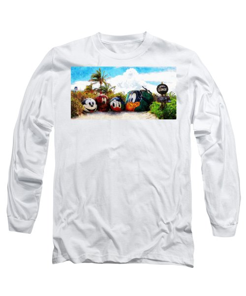 Mount Rustmore Castaway Cay Long Sleeve T-Shirt