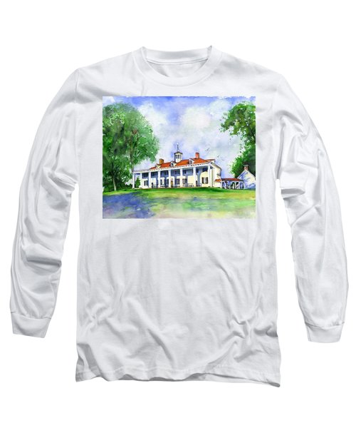 Mount Vernon Front Long Sleeve T-Shirt