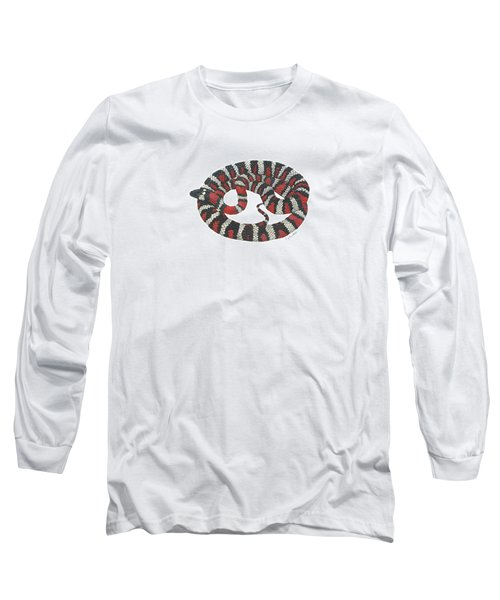 Mountain King Snake Long Sleeve T-Shirt by Cindy Hitchcock
