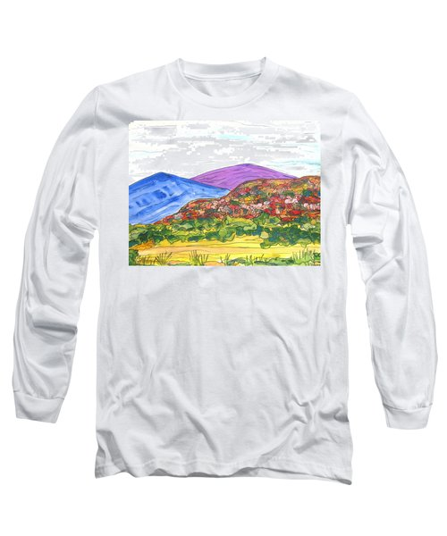 Mountains And South Mesa Long Sleeve T-Shirt