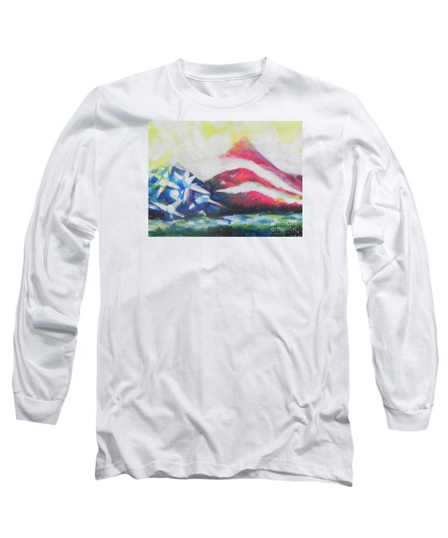 Mountains Of Freedom Two Long Sleeve T-Shirt