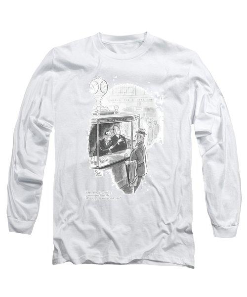 Mr. Bradley Long Sleeve T-Shirt