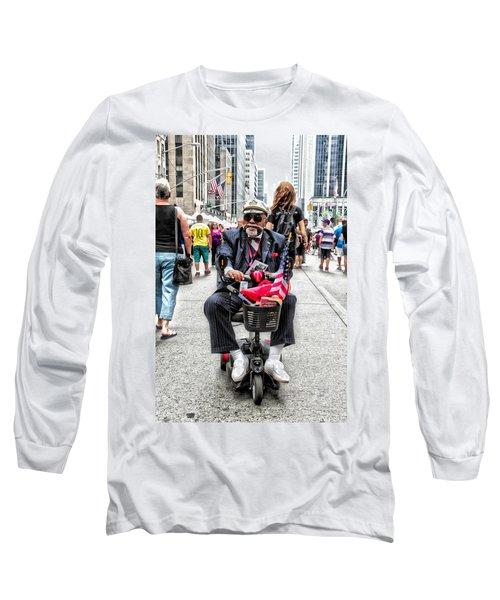 Mr. Mobile Long Sleeve T-Shirt