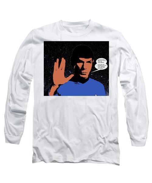 Mr. Spock Long Sleeve T-Shirt