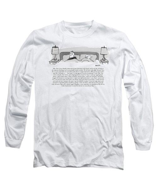 Mrs. Van Lewis-smythe Long Sleeve T-Shirt