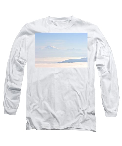Mt. Baker From San Juan Islands Long Sleeve T-Shirt