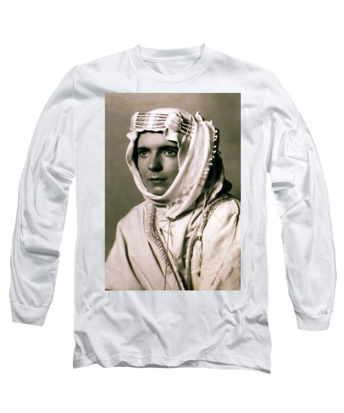 Long Sleeve T-Shirt featuring the photograph Mum Chris  Year 1955 by Colette V Hera  Guggenheim