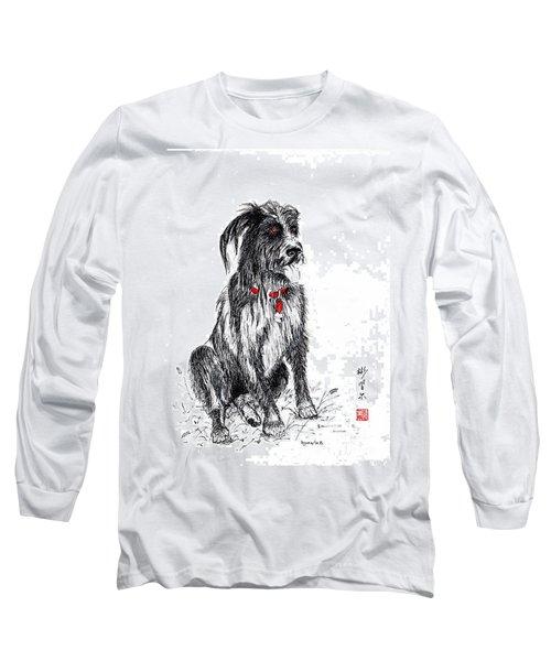 Murphy Long Sleeve T-Shirt by Bill Searle