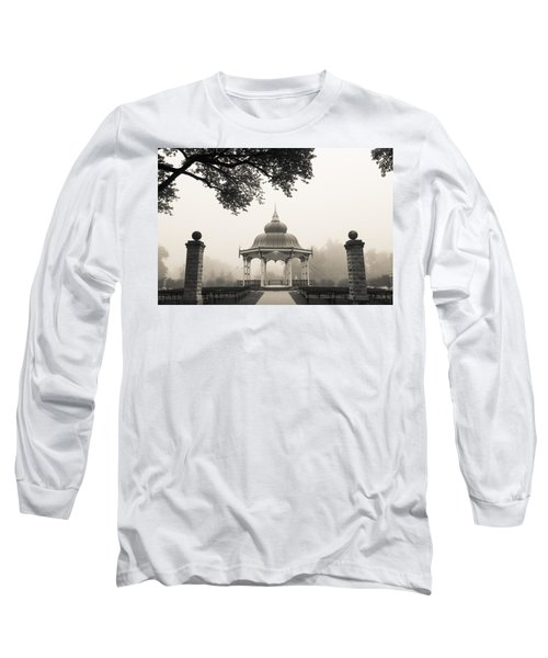 Music Stand In Fog Long Sleeve T-Shirt