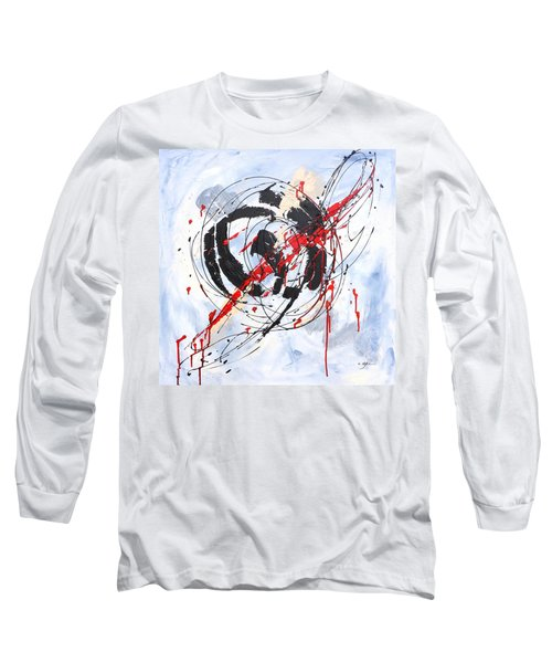 Musical Abstract 002 Long Sleeve T-Shirt