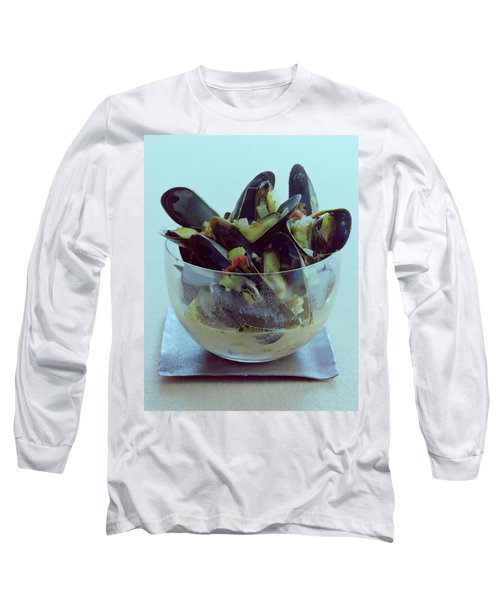 Mussels In Broth Long Sleeve T-Shirt