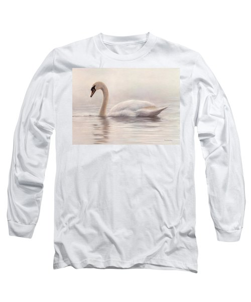 Mute Swan Painting Long Sleeve T-Shirt